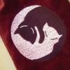 Yin Yang Cats Bag